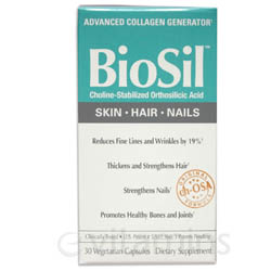 A box front of BioSil by Jarrow.