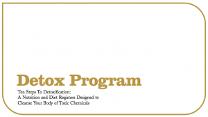 a picture of the title to Dr. Hull's 10-Step Detox Program